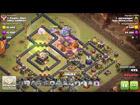 "CLASH OF CLANS ""INDO REVOLUTION VS KING7 KAMPOT"" 3STAR ATTACK !!!"