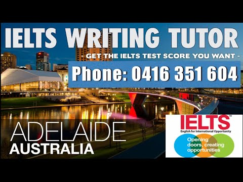 IELTS Writing Tutor Adelaide