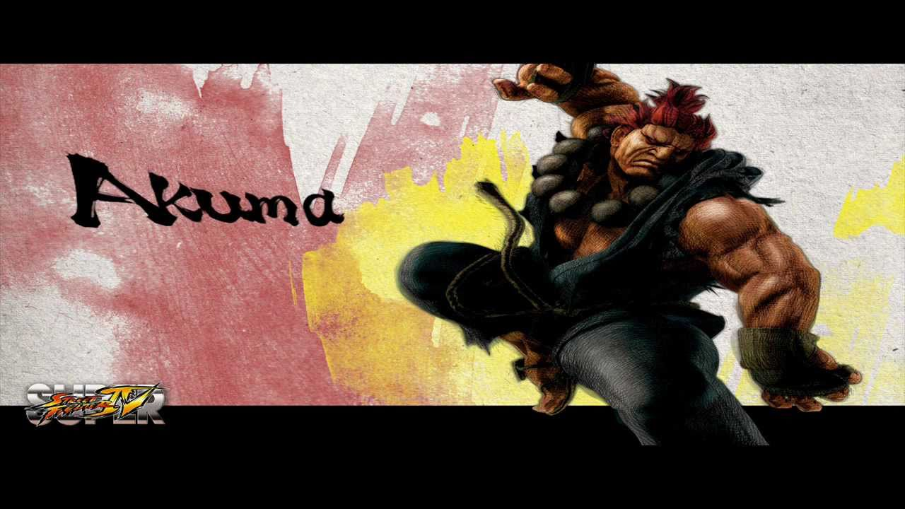 Super Street Fighter 4 Ryu Vs Akuma Theme Extended Youtube