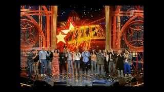 Поют все участники - Прощальная песня(шоу
