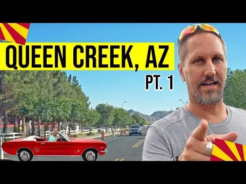 Queen Creek, Arizona Driving Tour (Pt 1 of 2): Living In Phoenix, Arizona Suburbs