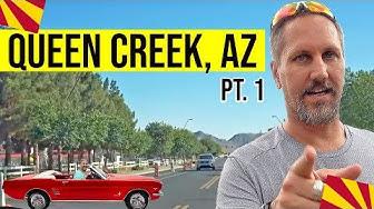 Queen Creek, Arizona Tour: Moving / Living In Phoenix, Arizona Suburbs (Queen Creek, AZ) (Pt. 1)