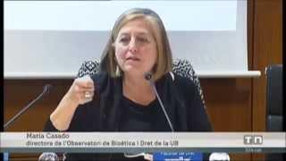 """El """"Documento sobre bioética y Big Data de salud"""" del OBD UB en el telenoticias de TV3"""