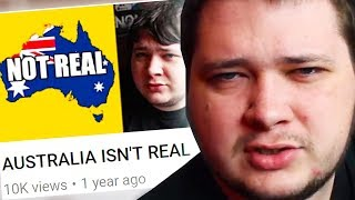 THIS MAN THINKS AUSTRALIA DOESN'T EXIST