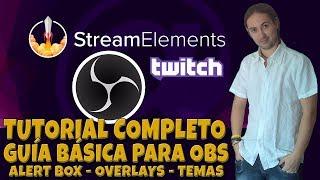 Guía Básica Stream Elements para OBS Studio (Alert Box, Overlays y mucho más) thumbnail