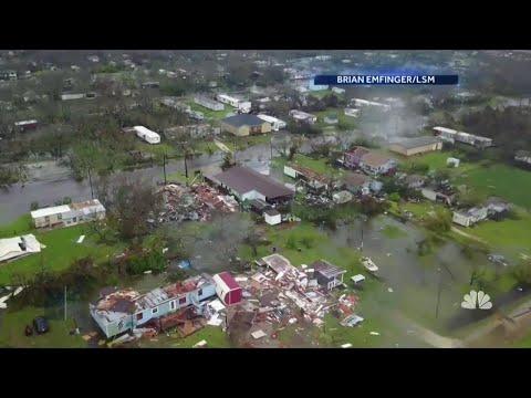 Hurricane Harvey: Widespread Devastation in One Texas Town | NBC Nightly News