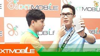 Video XTmobile | Phỏng vấn Vinh Vật Vờ và khách hàng tới tham quan chi nhánh 650 Lê Hồng Phong download MP3, 3GP, MP4, WEBM, AVI, FLV Juli 2018