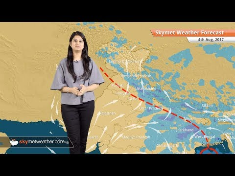 Weather Forecast for Aug 4: Rain in Kolkata, Lucknow, Shimla; dry weather in Ahmedabad, Delhi