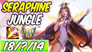 SERAPHINE JUNGLE FULL AP - GRACEFUL PHOENIX SERAPHINE GAMEPLAY | Build & Runes | League of Legends