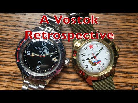 My Vostok Watch Collection