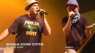 Massilia Sound System Au Marché Du Soleil -50 ans AJAL- Sauveterre de Rouergue