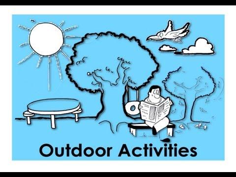 Outdoor Activities | Easy English Conversation Practice | ESL