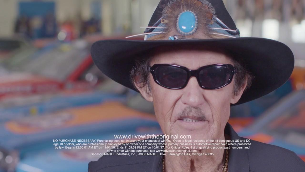 "Richard Petty Mustang >> Richard Petty Kicks Off MAHLE Original Gaskets ""Drive With The Original"" Mustang Giveaway - YouTube"