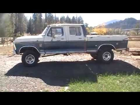 1976 Ford F-250 Ranger XLT Crew Cab 4x4 Highboy Truck For Sale Rogue River  Oregon - SOLD!