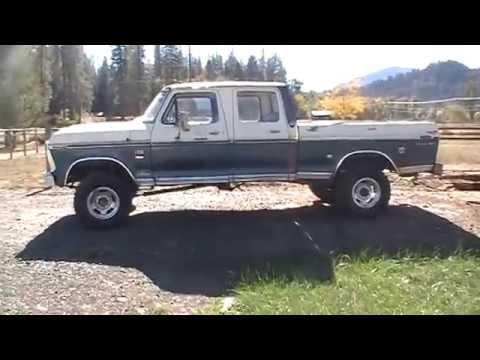 1976 Ford F-250 Ranger XLT Crew Cab 4x4 Highboy Truck For ...