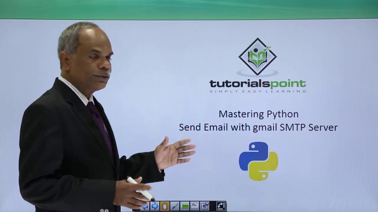 Python - Sending Email With Gmail SMTP Server