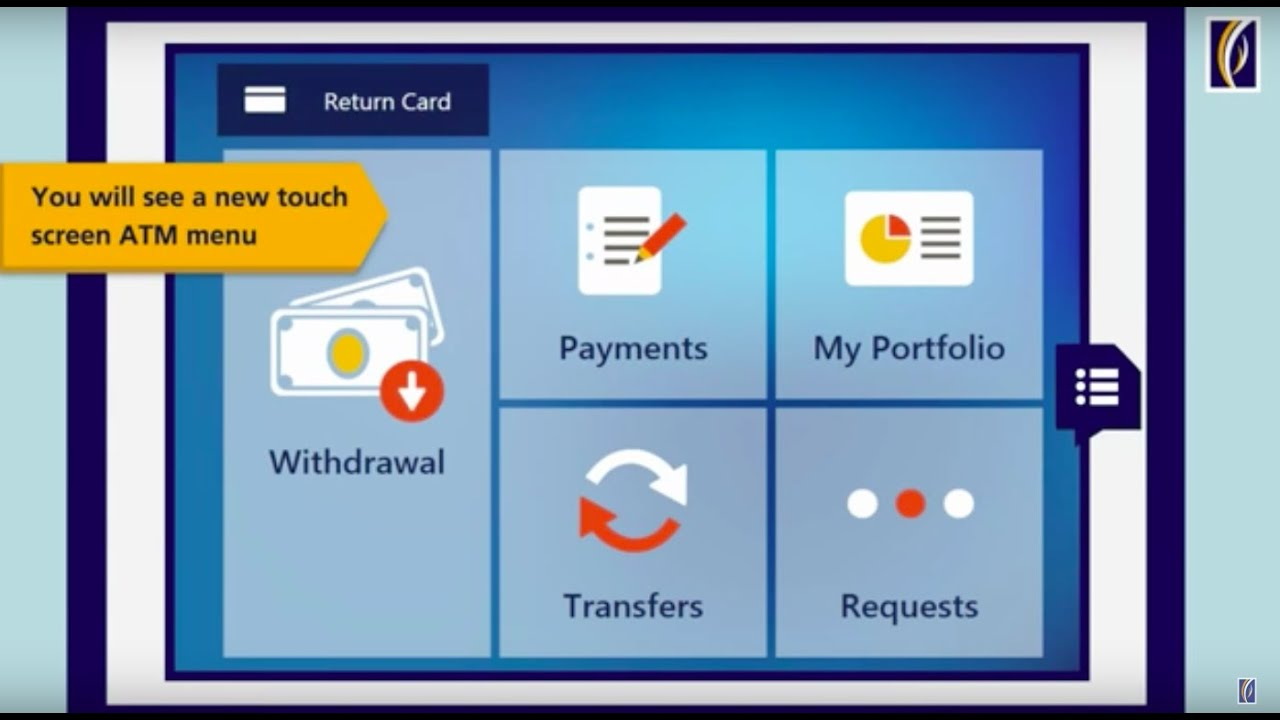how to use the new emirates nbd atm banking service