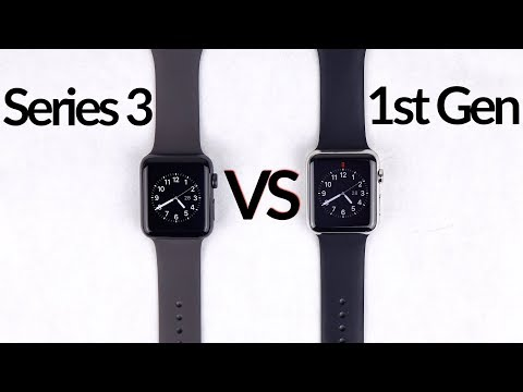 Apple Watch Series 3 vs 1st Gen