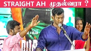 Vishal talks in detail about his latest film Irumbuthirai
