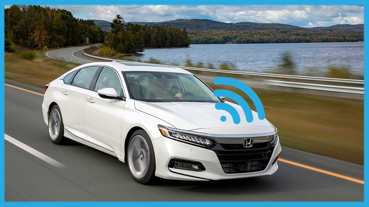 2018 Honda Accord With Sensing