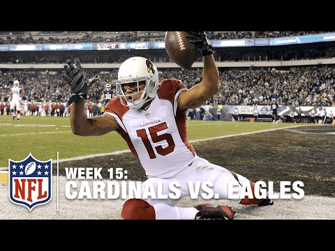 477e29d902f Michael Floyd Makes Amazing One-Handed Catch! | Cardinals vs. Eagles | NFL