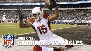 Michael Floyd Makes Amazing One-Handed Catch! | Cardinals vs. Eagles | NFL