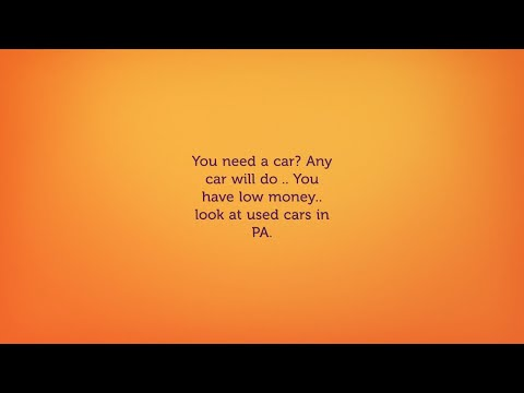 Cheap used cars near Lancaster PA- Buy here Pay Here Car Dealers Pennsylvania