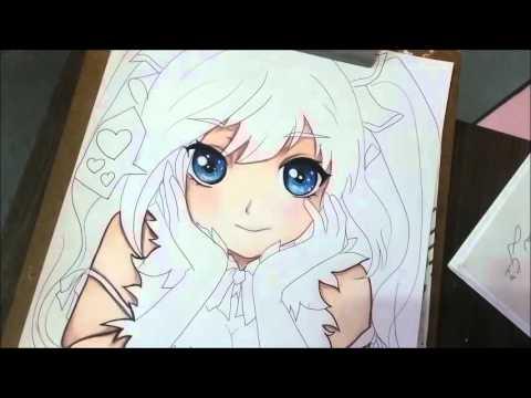 Colorindo Pele Anime Youtube
