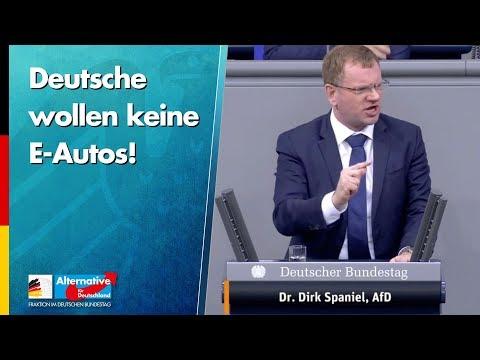 Deutsche wollen keine E-Autos! - Dirk Spaniel - AfD-Fraktion im Bundestag