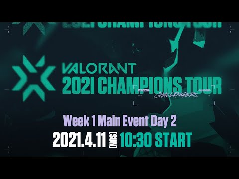 VALORANT - Japan - VCT Stage2 - Challengers JAPAN Week1 Main