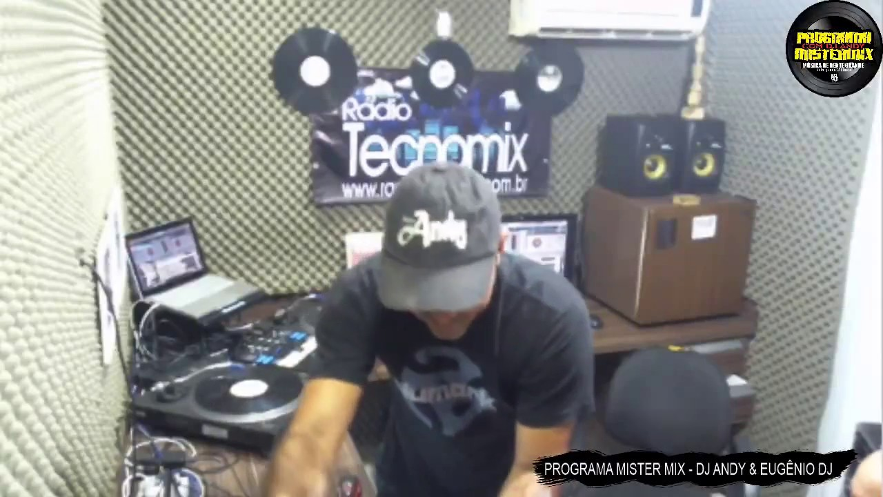 PROGRAMA MISTER MIX 17/01/2019 ANOS 80 ANOS 90 DJ ANDY EUGÊNIO DJ RADIO TECNOMIX