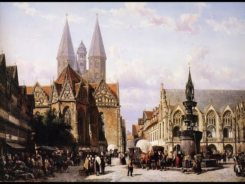 Paintings of Dutch Cities and Towns by Cornelis Springer