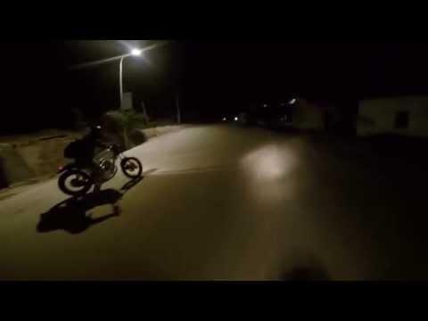 Midnight riding in China