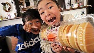 コストコ 木村屋パンケーキめちゃうまRino&Yuuma