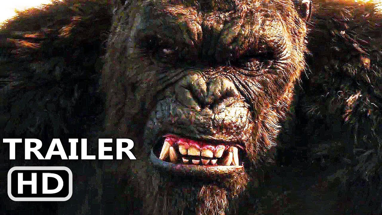 GODZILLA VS KONG Trailer Brasileiro LEGENDADO (2021)