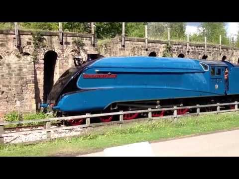 *MUST SEE* 4489 Dominion of Canada bell ringing Shildon NRM 22/5/13