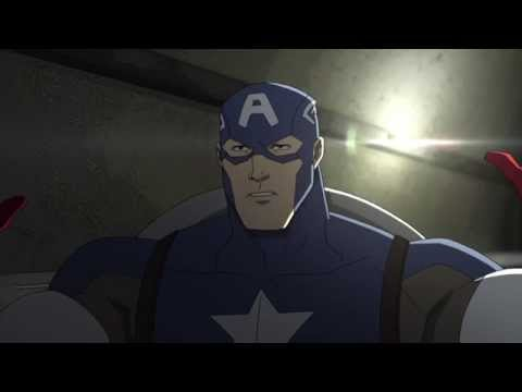 Avengers Assemble S02E04 Ghosts of the Past Captain America vs Winter Soldier Part 1  mp4