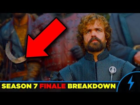 "Game of Thrones Season 7 Finale BREAKDOWN ""The Dragon and the Wolf"" (7x07)"