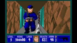 "[WOLF3D] | Speedrun Wolfenstein 3D | Episode 6 | ""Can I play, Daddy ?"" in 6:54 [With Mouse]"