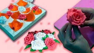 Роза из мастики. Сушилка для цветов / Rose of mastic. Dryer for flower - Я - ТОРТодел!(Понравилось видео? Поделись с друзьями! Оценивай!Комментируй! (•̪○) Канал моих Детей: https://goo.gl/NJ2pD3 ..., 2016-12-17T04:59:16.000Z)