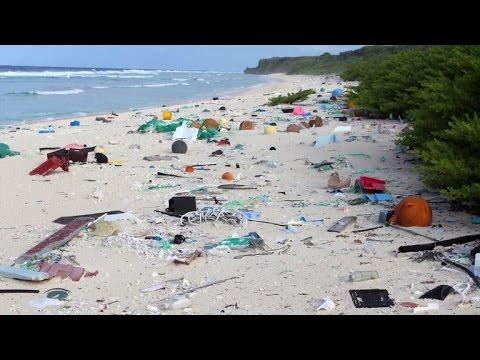 Why tiny, uninhabited island has world's worst plastic pollution