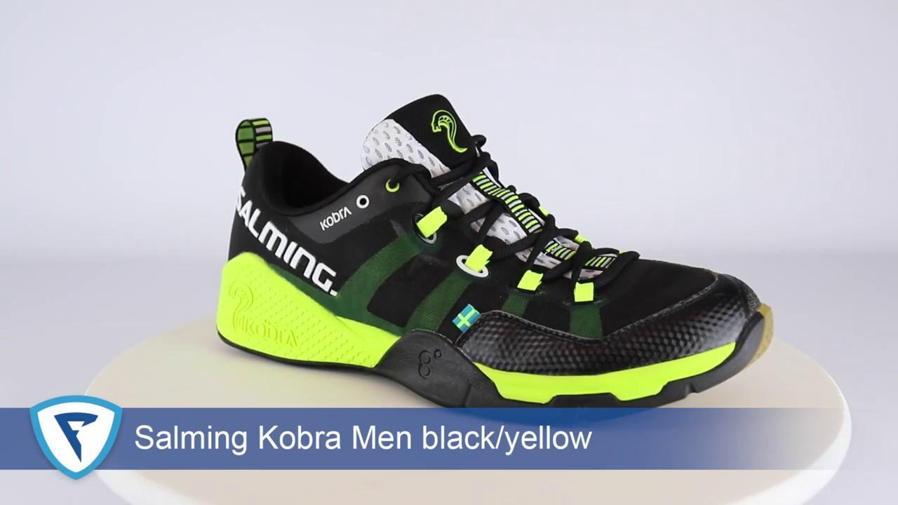 Salming Kobra Men Black-Yellow - YouTube 7fcf170f13