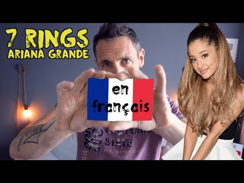 Ariana Grande - 7 rings traduction en francais COVER