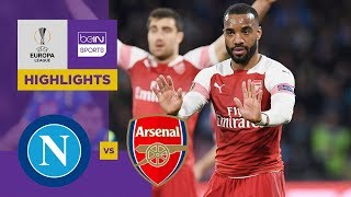 Napoli 0-1 Arsenal | Europa League Highlights