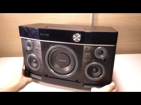 AIWA EXOS-9 Portable Bluetooth Speaker Review & Sound Test
