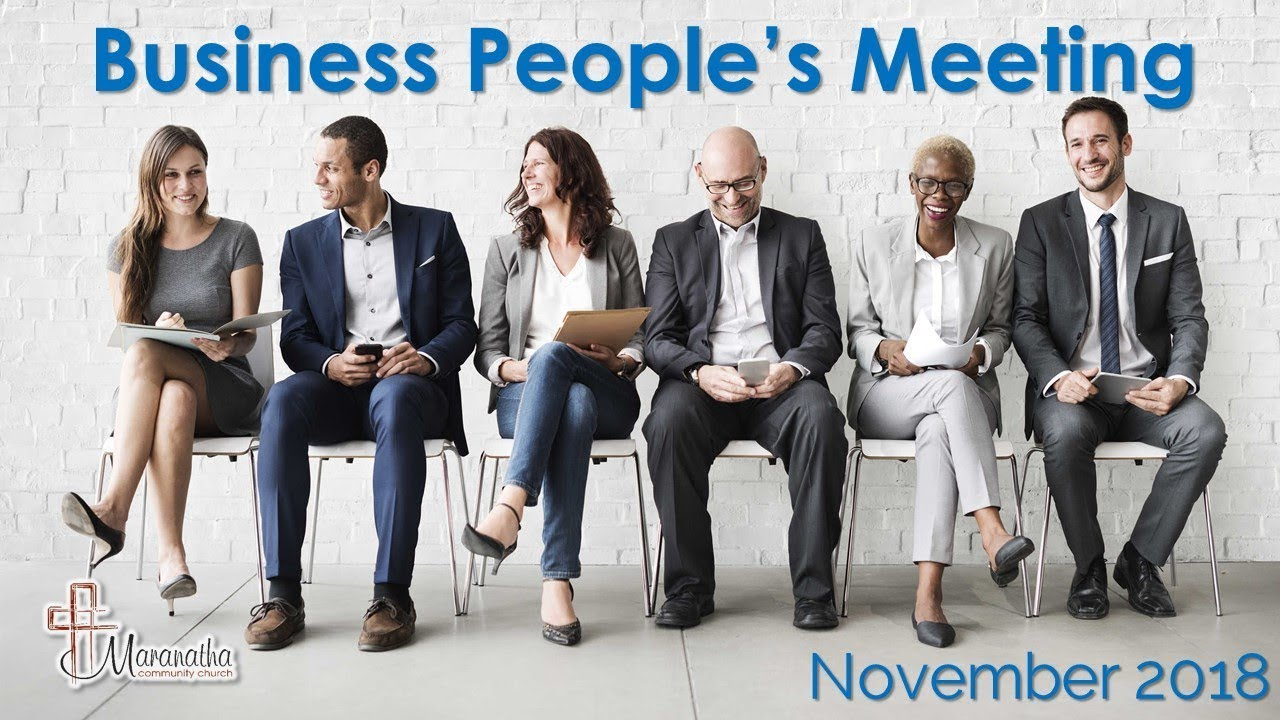 Business People's Meeting November 2018 - Craig Carrington: Faith to Climb your Mountain