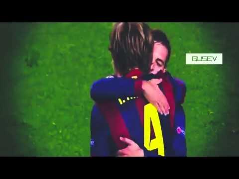 Lionel Messi Fantastic Assist Ivan Rakitic Goal   Barcelona vs Manchester City 1 0 UCL 2015
