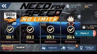 Need For Speed No Limits Android Lotus Exige Cup 380 (2017) Día 4 Eliminatoria Parte 2