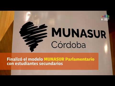 Finalizó el modelo MUNASUR Parlamentario con estudiantes secundarios