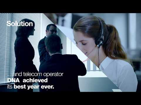 Satisfied customers = Increase in sales. Telecom operator DNA digital transformation journey.